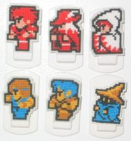 Final Fantasy Magnets - 2 by crafty-manx