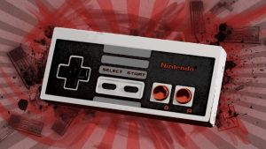 Nes Controller Wallpaper by G33k1nd159153