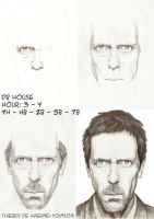 Dr Gregory House - WIP by thierryart