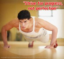 Strive for Progress, not for Perfection by michaeltuan97