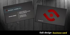 business card by fukidesign