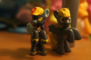 Derpy and Dash Customs by LordBoop