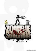 Zombie Suburbia case logo by raven8t8