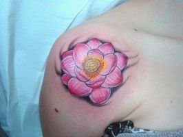 lotus by GringoTattoofiel