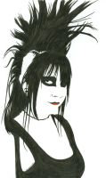Punk Girl by prospiderman