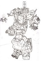 redesign fortress maximus by Blitz-Wing