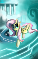 Future Fluttershy by Phendyl