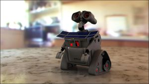 Photorealistic Wall-E? by theaaronp