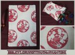 Blood Moon Pouch for Tarot, Dice, Runes etc. by ImogenSmid