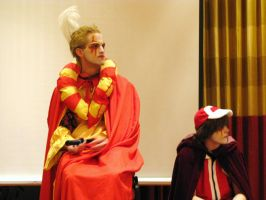 EXP08 Kefka and EvilRed by Group-Photos