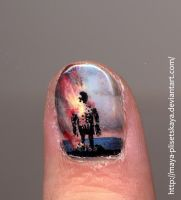 The Wicker Man nail by Maya-Plisetskaya
