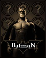 Batman Poster (Sepia) by CliffEngland