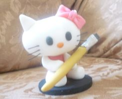 Cold Porcelain Hello Kitty by KrlosKmask