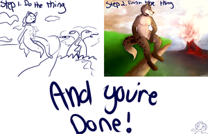 tutorial on how to do the art thing by Leodrolf