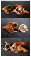 Steampunk Goggles by Indirie