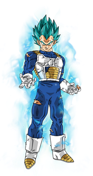 Vegeta Super Saiyan Blue by BardockSonic
