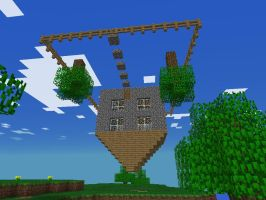 Upside Down House by BoscoBurns