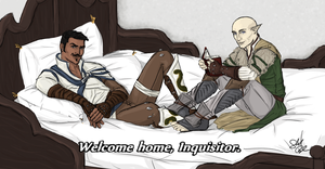 Welcome Home, Inquisitor. by ShaylynB