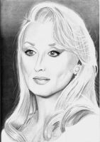 Meryl Streep by DawnsLaugh