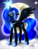 Nightmare Moon by ArtyJoyful