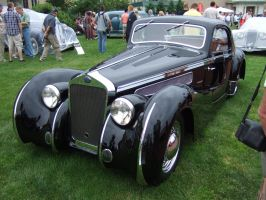 1937 Delage D8 120SS Aerodynamic Coupe by Aya-Wavedancer