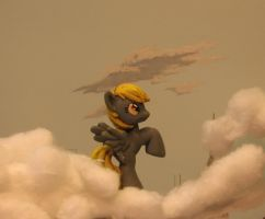 Derpy Hooves Side by godzillabadger