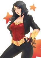 Wonder Woman by rika-dono