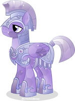 Crystal Royal Guard Pegasus by Vector-Brony