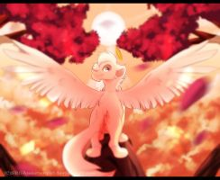 :.Gift.:Spread your wings by SEGAmastergirl