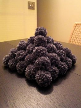 Pom-poms Galore by TheSerialKnitter
