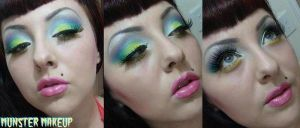 rainbow girl by munstermakeup