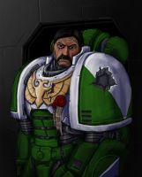 Space Marine Sergeant by sarroz