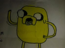 Jake of Adventure Time by ScissorLuv1201