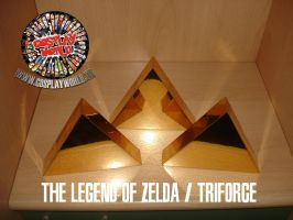 THE LEGEND OF ZELDA TRIFORCE by COSPLAYWORLD-ITALIA