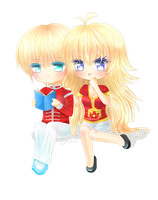 :PC: .: Kanamakia and Kurapika :. by KiGaMin