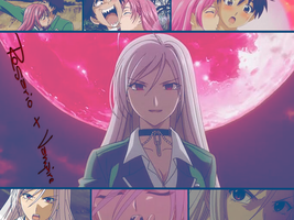 Rosario + Vampire wallpaper 3 by Nothernwolf