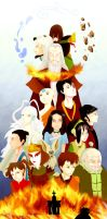 Avatar: the last airbender by Nyajinsky
