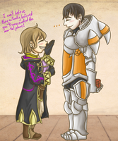 Ashe x Kellam - S Support by FatefulWings