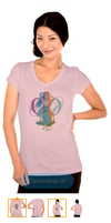 March Sun's Warmth Women's Bella Jersey T-Shirt by tessieart333