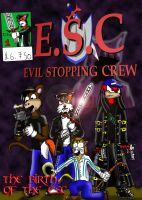 ESC Remastered- Issue 1 cover by Luke-the-F0x