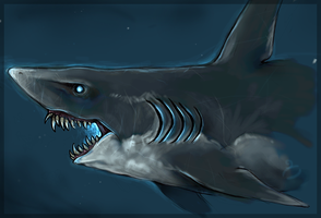 Ghost Shark by Catsblood