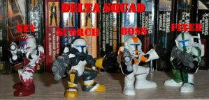 Delta Squad Custom GH Figures by Deadpoolandfriends