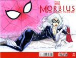 BLACK CAT sketch cover by mdavidct