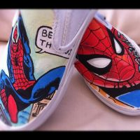 Spider-man Vans by VeryBadThing