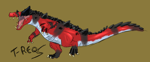 Krookodile- Kaprosuchus Inspired (OLD) by T-Reqs