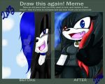 Draw this again meme by joanathewolf