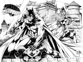 Gotham Rooftop by Ta2dsoul