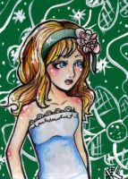 ACEO verde by lionbeforelamb