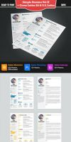 Simple Resume 2 + Cover Letter. A4 and US Letter by csmweb