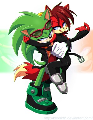 CM:Scourge and Fiona by BloomTH